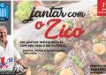 Em Itajaí, jantar com o craque Zico