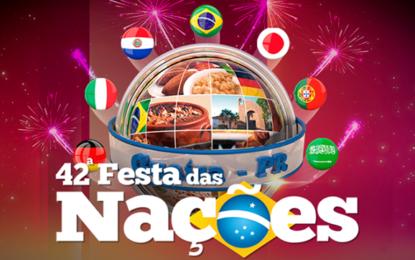 Festa das Nações, pedida em Guaíra