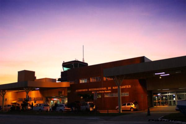 Coluna Volta ao Mundo por Nelci Seibel: Aeroporto Internacional de Navegantes (Foto divulgação)