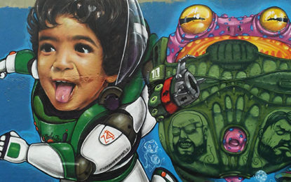 A boa arte também está nas ruas