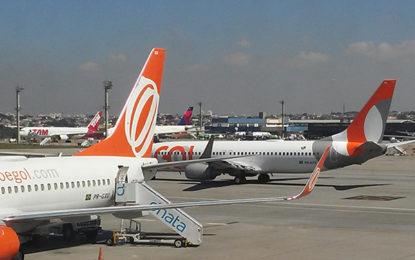 Anac registra aumenta nos aeroportos