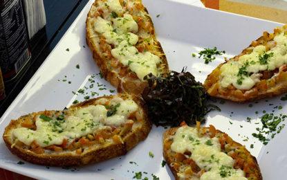 Em São Paulo, churrasco vegetariano