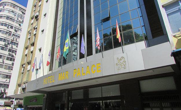 Um hotel no coração de Copacabana
