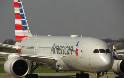 Crescem chegadas de voos internacionais