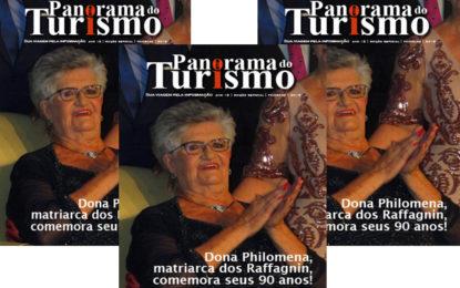Matriarca dos Raffagnin ganha revista