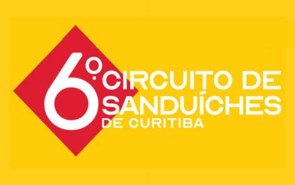 Vem aí o Circuito de Sanduíches de Curitiba