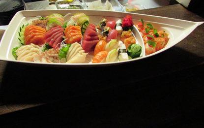 Sushi, novidade no Street 444