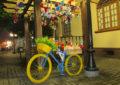 O coelhinho comprou uma bicicleta!