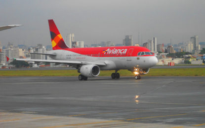 Comunicado aos passageiros da Avianca
