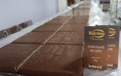 Chocolate de onze metros vira atração
