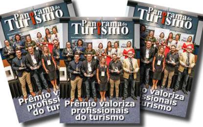 Prêmio do turismo ganha revista especial