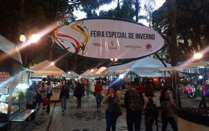Curitiba tem feiras de inverno