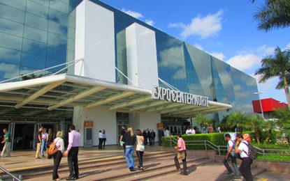Expo Center Norte, agenda recheada