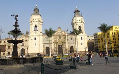 Peru terá promoção em três capitais
