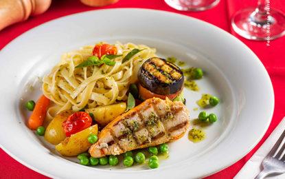 Almoço e jantar no Anarco