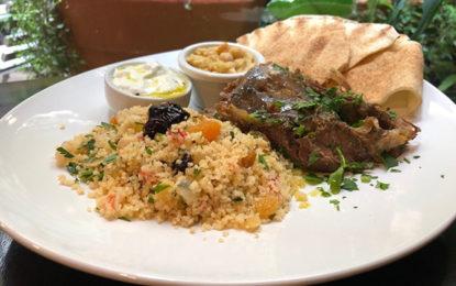 Sabores árabes na hora do almoço