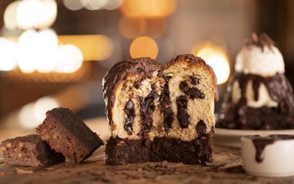 Outback aposta na combinação de panettone com brownie