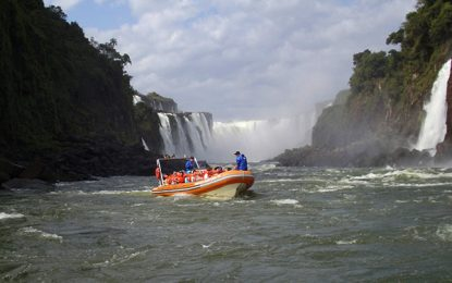 Foz do Iguaçu, aniversário com turistas