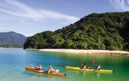 Nova Zelândia, natureza exuberante