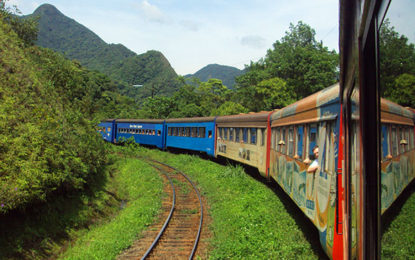 Cultura japonesa, Parque do Cerrado e passeio de trem