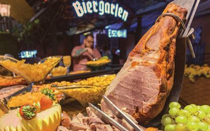Oktoberfest mit Eisenbahn e novos restaurantes