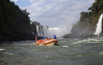 Cataratas com o Bourbon Iguaçu