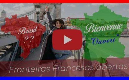 Video explica reabertura do turismo na França